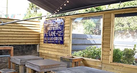 Pub Outside Area - Beer Garden